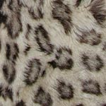 Snow leopard fur with rosettes close up