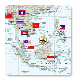 ASEAN WEN member map