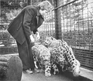 Helen Freeman, founder of Snow Leopard Trust. Photo by SL Trust