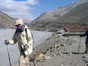 Arid Himalayan landscape
