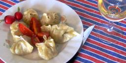 Mongolian steamed Buuz. Photo from Mongolfood website.