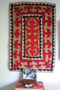 SLE rug from mongolia. Photo by Sibylle.