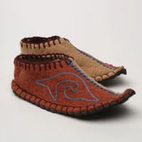 Oruktam slippers from Snow Leopard Trust shop.
