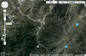Location of night footage of snow leopard