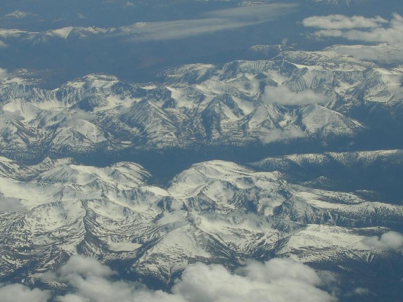 Altai mountains from the air photo by francesco bandarin unesco